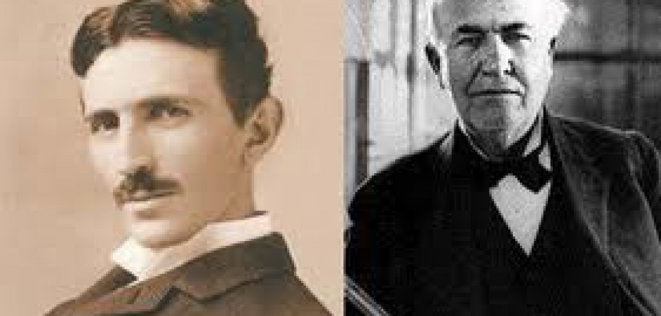 Famous Rivalries: Edison vs. Tesla