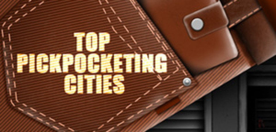 Top Pickpocketing Cities