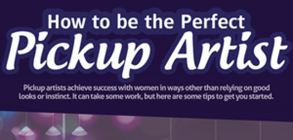 Pick up artists infographic