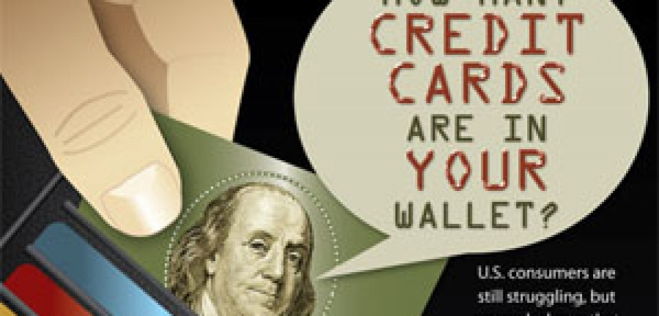 How Many Credit Cards Are in Your Wallet?