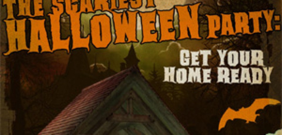 The Scariest Halloween Party: Get Your Home Ready