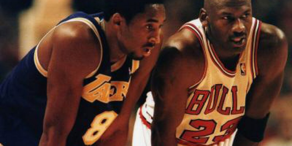 The Greatest of All Time: Kobe Bryant vs Michael Jordan [Infographic]