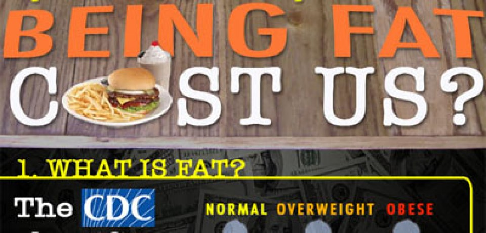 How Much Does Being Fat Cost Us?