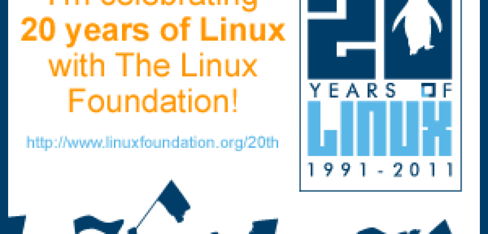 The 20th Anniversary of Linux