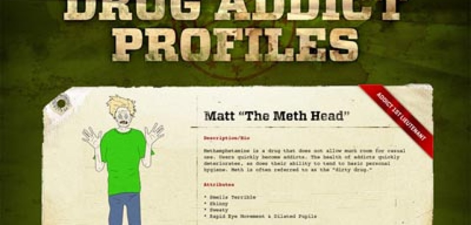 Drug Addict Profiles
