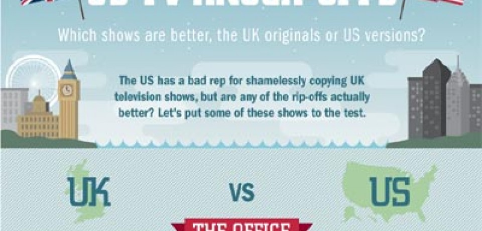 UK shows Vs. US rip-offs