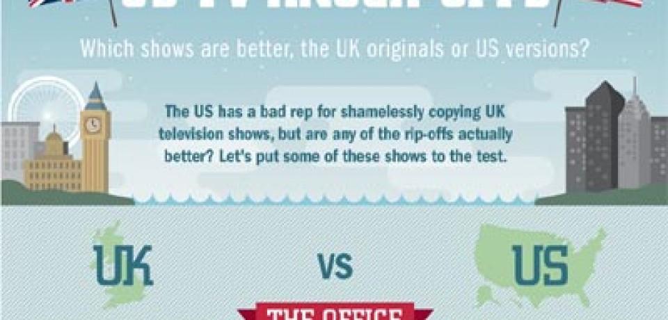 UK shows Vs. US rip-offs