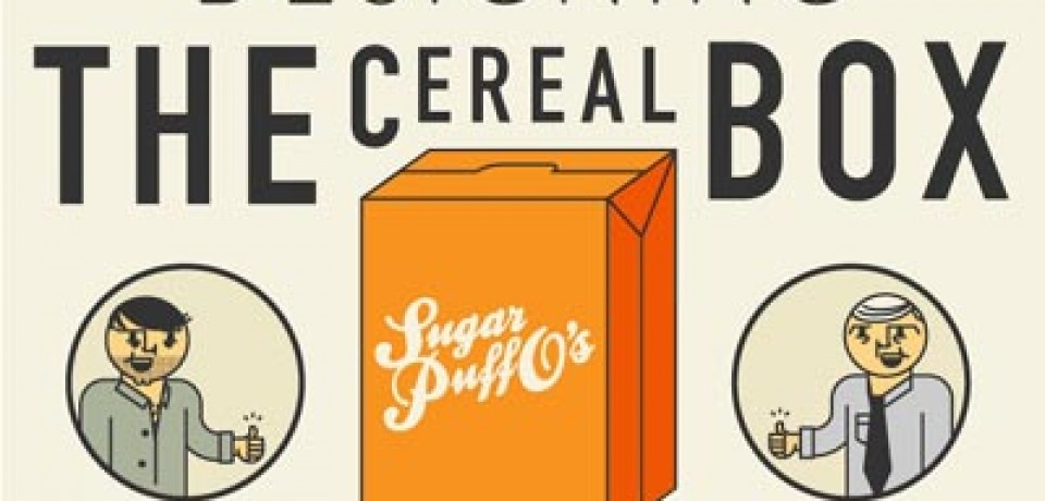 Designing the Cereal Box