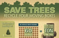 Save Trees: Recycle Your Moving Boxes