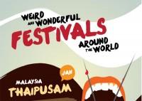 Weird and wonderful festivals around the world