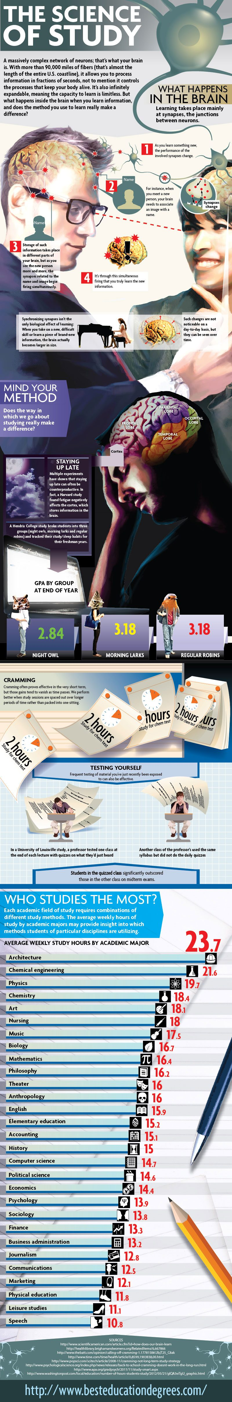 The Science of Study [Infographic]