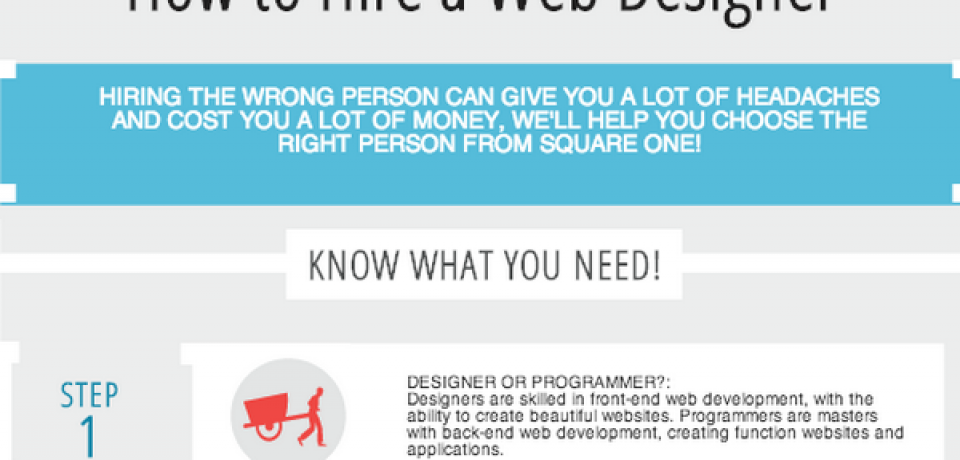 The Definitive Infographic to Hiring a Web Designer [Infographic]