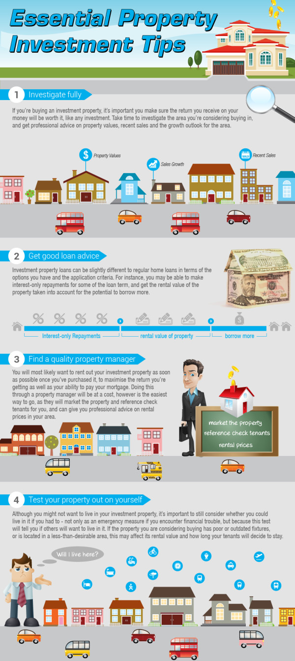 Essential Property Investment Tips [Infographic]