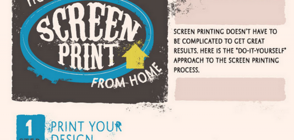 How To Screen Print From Home