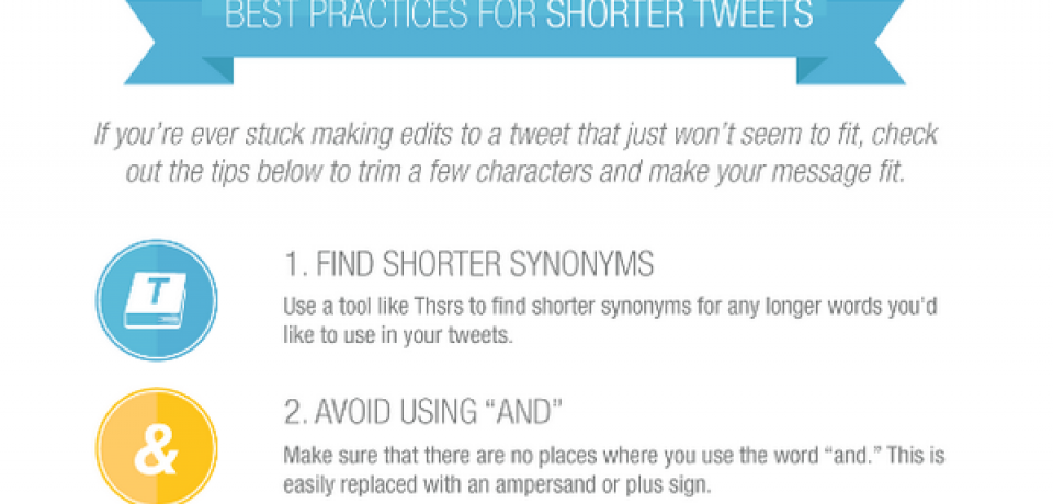 Best Practices for Shorter Tweets