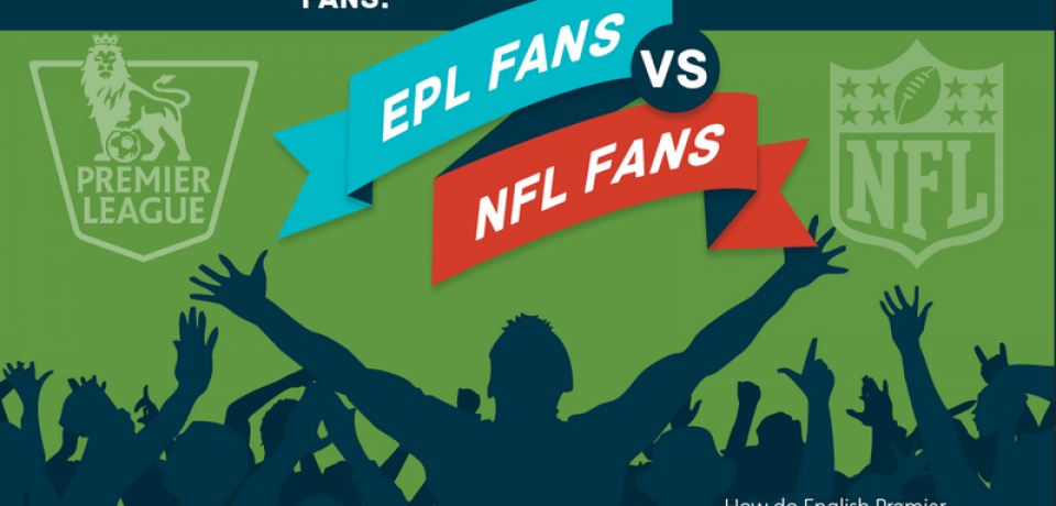 Eurepean Premier League Fans vs National Football League Fans