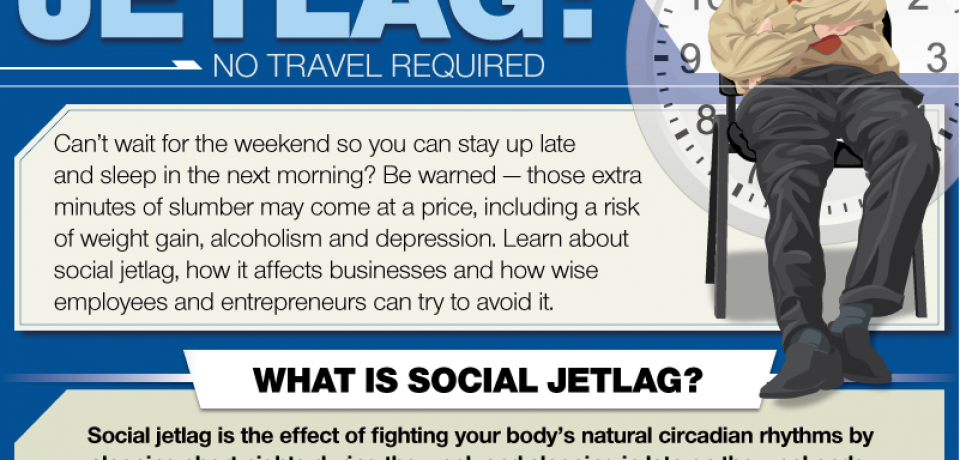 Social Jetlag: No Travel Required [Infographic]