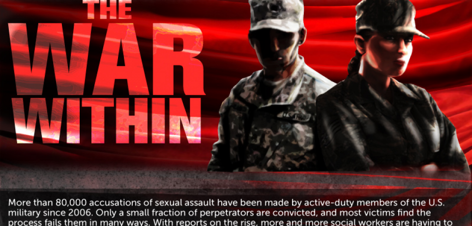 The War Within: Sexual Abuse in the Military [Infographic]