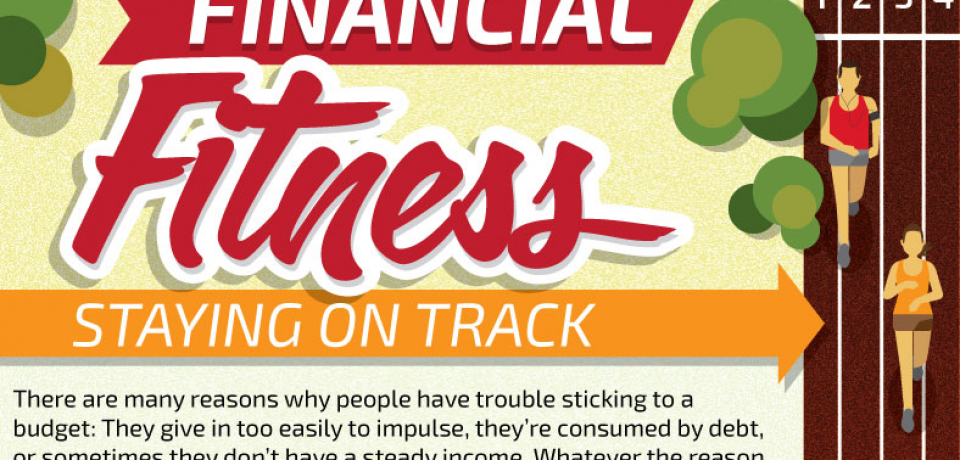 Financial Fitness: Staying on Track [Infographic]