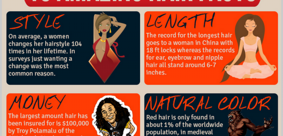 Fun Hair Facts [Infographic]