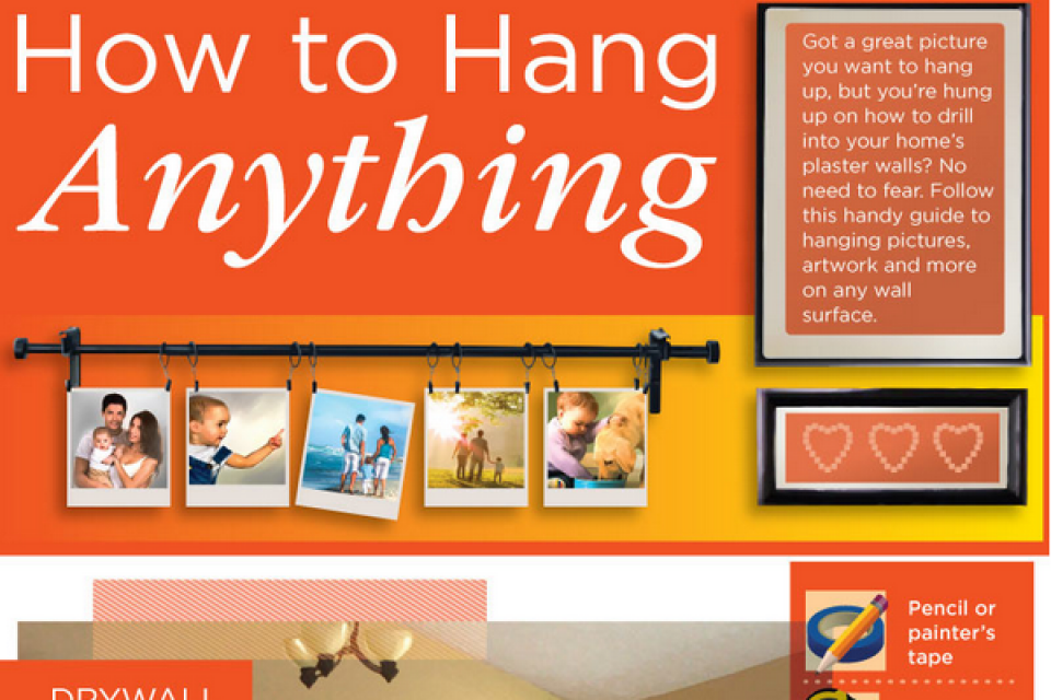 How to Hang Anything [Infographic]