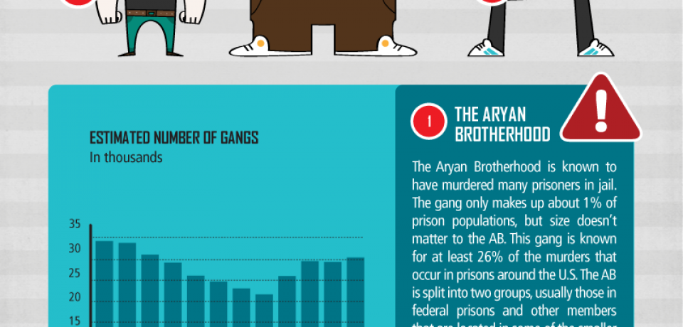 The United States of Gangs [Infographic]