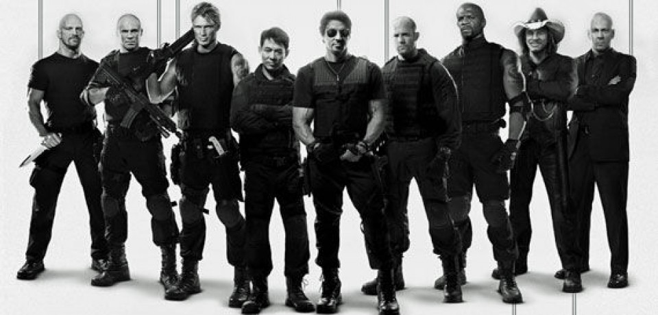 Body Counts for 'The Expendables' Cast [Infographic]