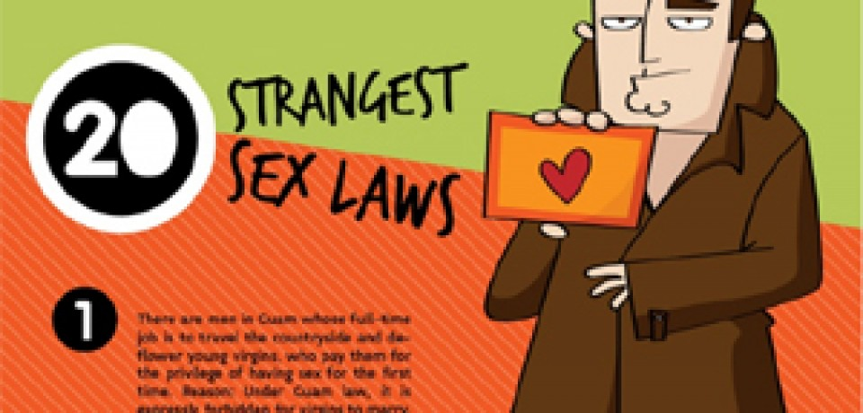 20 Strangest Sex Laws from Around the World