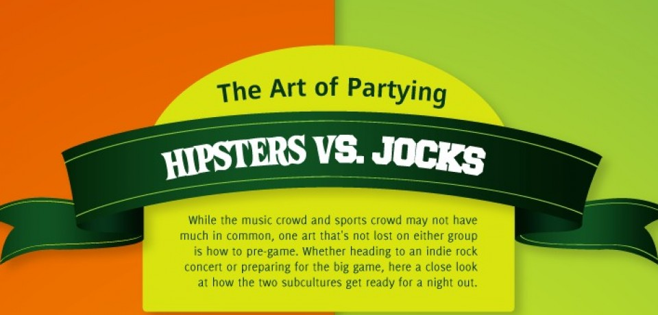 The Art of Partying: Hipsters vs. Jocks