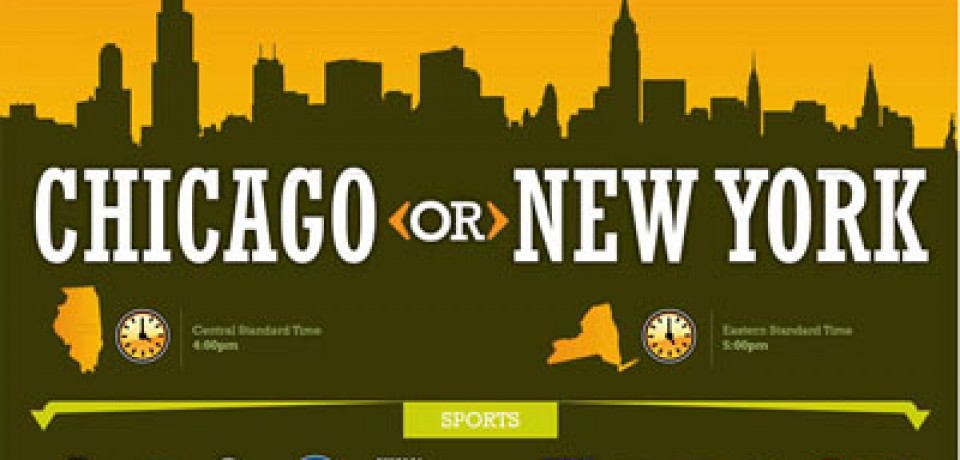 Chicago and New York – What's the Difference?