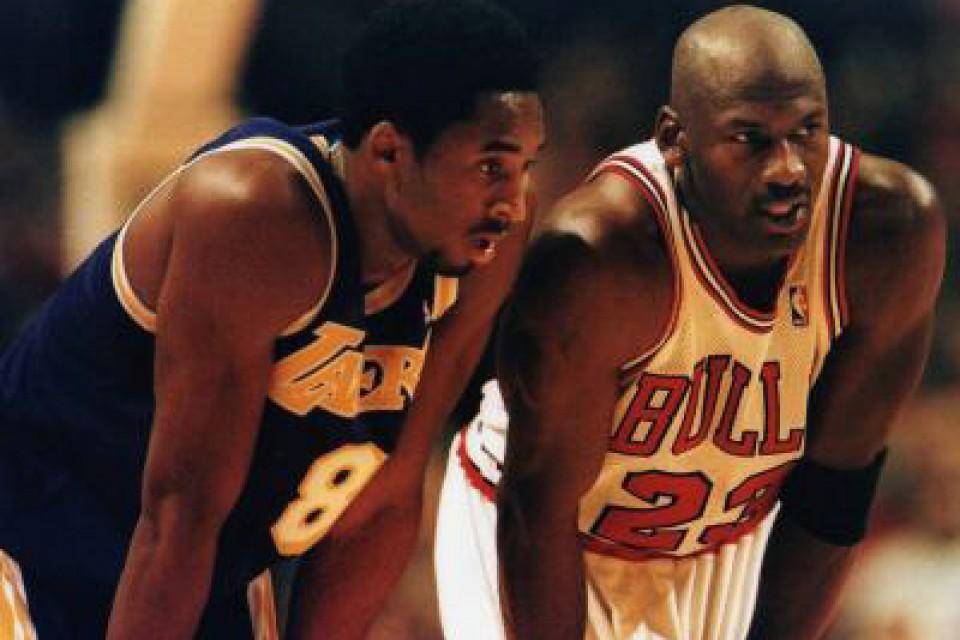 The Greatest of All Time: Kobe Bryant vs Michael Jordan [Infographic]
