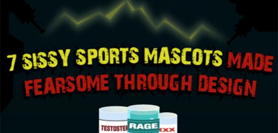 Seven Sissy Sports Mascots Made Fearsome Through Design