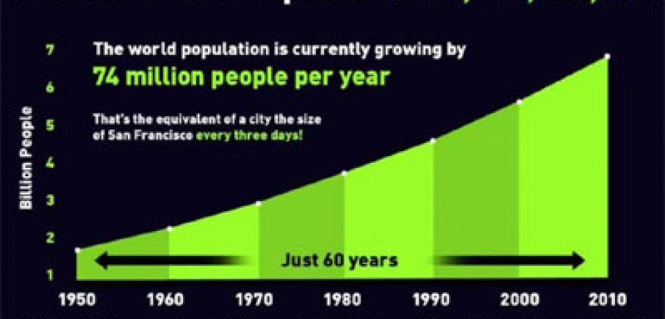World Population Growth [Infographic]