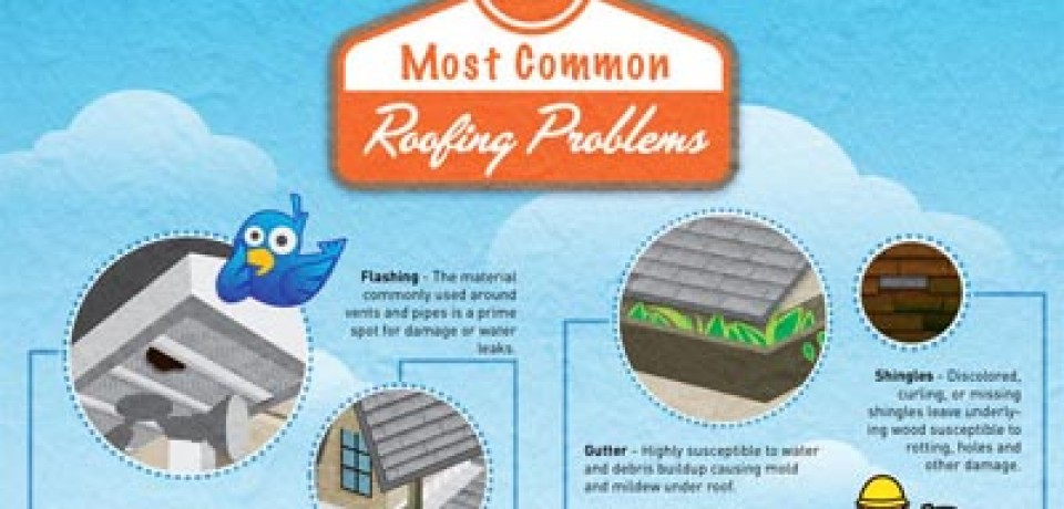 5 Most Common Roofing Problems