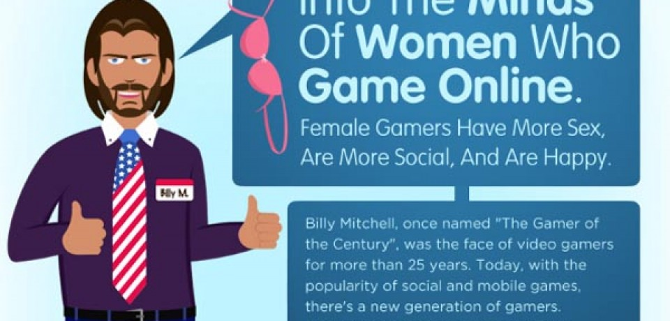 Into The Minds Of Women Who Game Online
