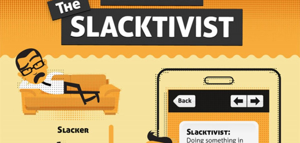 The Rise of the Slacktivist