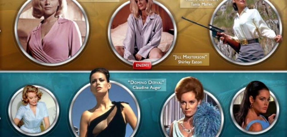 The Girls of James Bond