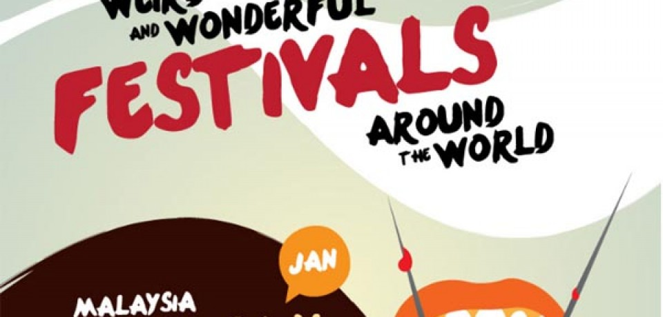 Weird and wonderful festivals around the world
