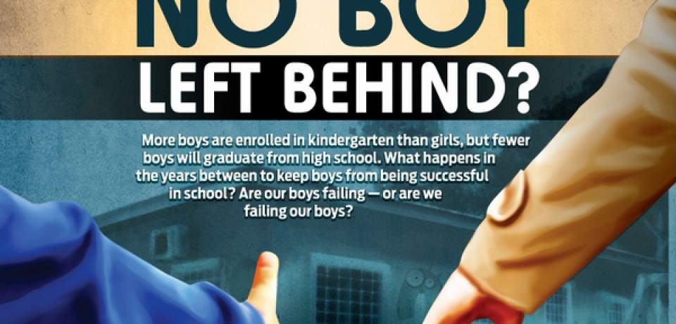 No Boy Left Behind [Infographic]