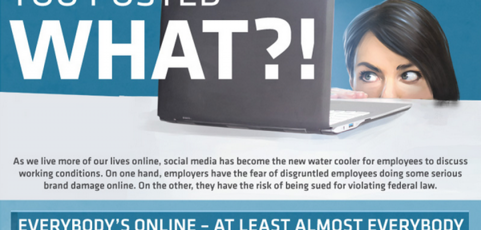 Fired for Facebook [Infographic]