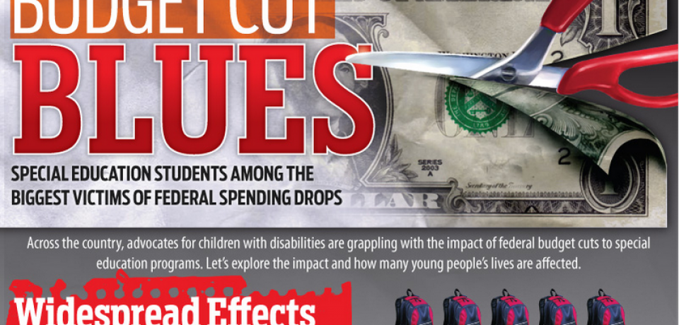 Budget Cut Blues: How Special Education Students Are Among the Biggest Victims of Federal Spending Drops [Infographic]
