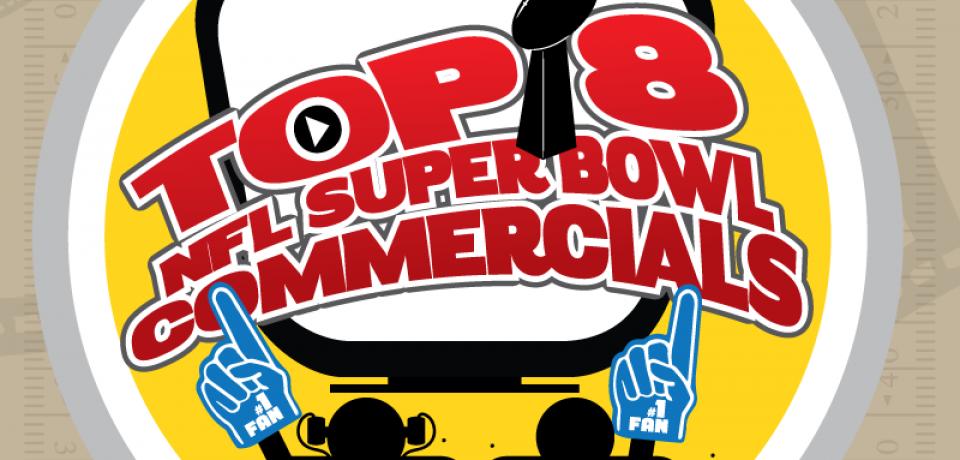 Top 8 NFL Super Bowl Commercials