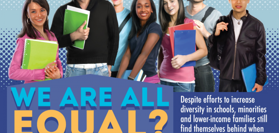 Diversity in Higher Ed: Are We All Equal? [Infographic]