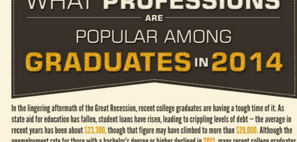 What Professions Are Popular Among Grades in 2014 [Infographic]