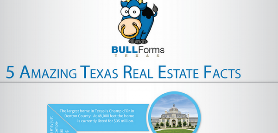 5 Amazing Texas Real Estate Facts [Infographic]