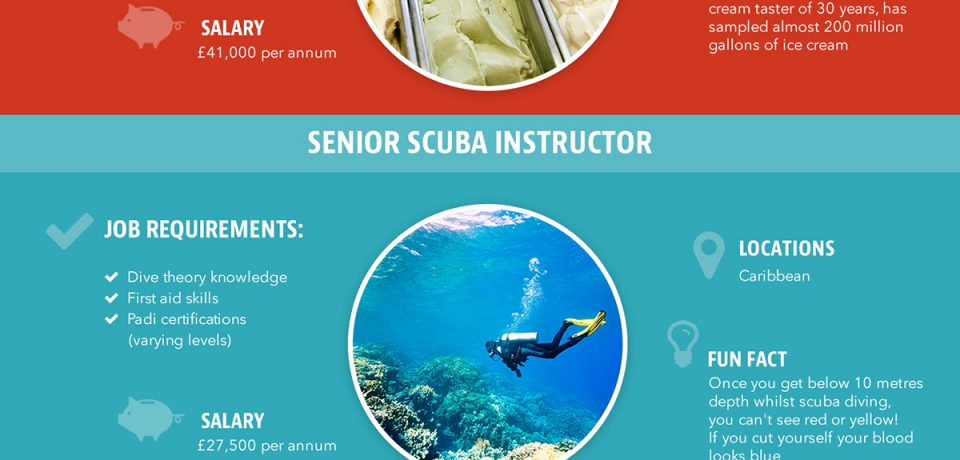 17 Awesome Jobs Around The World [Infographic]